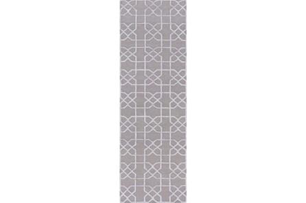 30X96 Rug-Petalo Grey