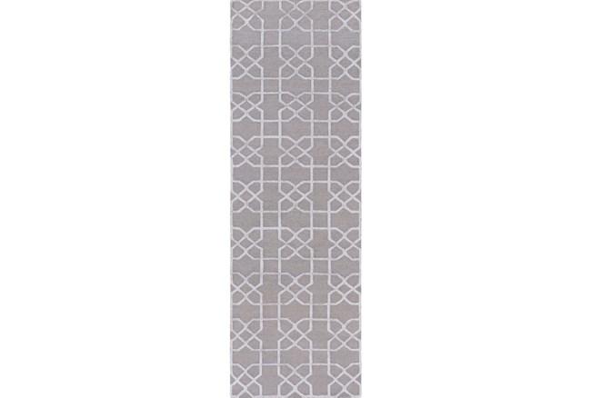 30X96 Rug-Petalo Grey - 360