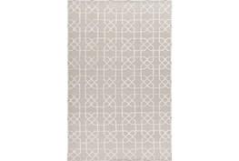 72X108 Rug-Petalo Grey