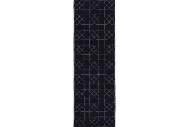 30X96 Rug-Petalo Charcoal - 360