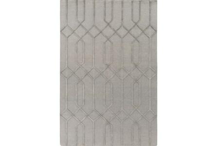 72X108 Rug-Crescent Grey