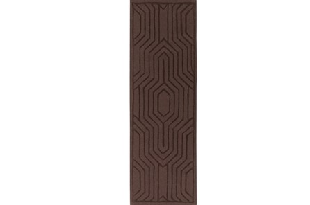 30X96 Rug-Oracle Chocolate