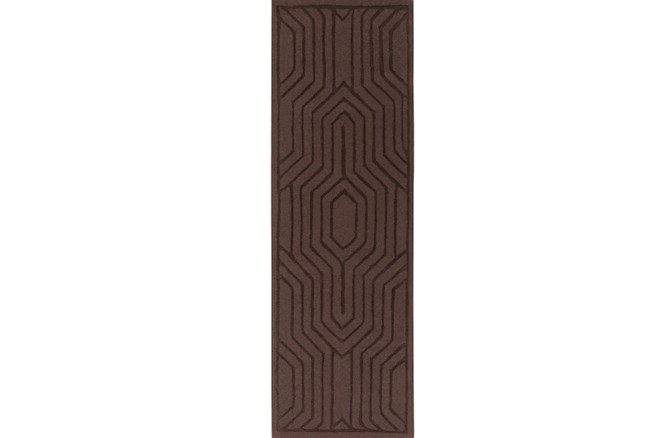 30X96 Rug-Oracle Chocolate - 360