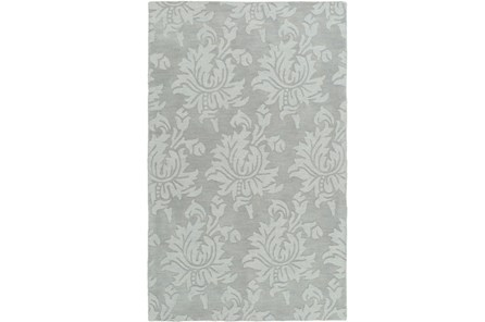 96X132 Rug-Floret Slate