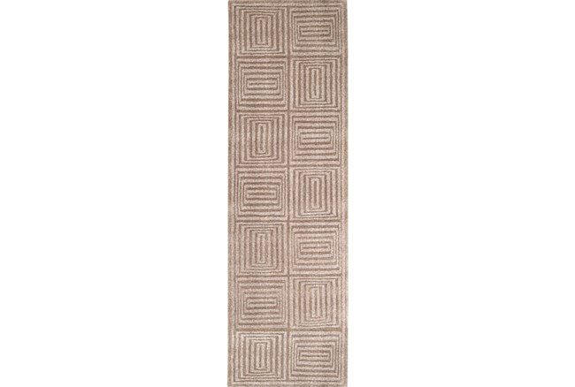 30X96 Rug-Complex Taupe - 360