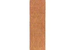 "2'5""x8' Rug-Paragon Rust"