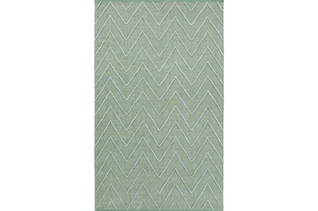 48X72 Rug-Aisha Sea Foam - Main