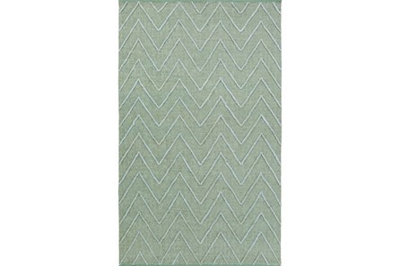 96X120 Rug-Aisha Sea Foam