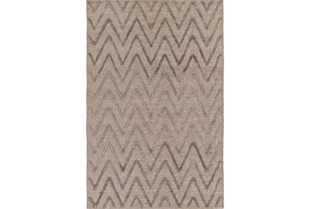 2'x3' Rug-Aisha Grey/Charcoal