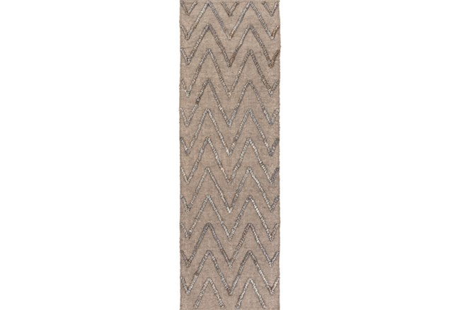 30X96 Rug-Aisha Grey/Charcoal - 360