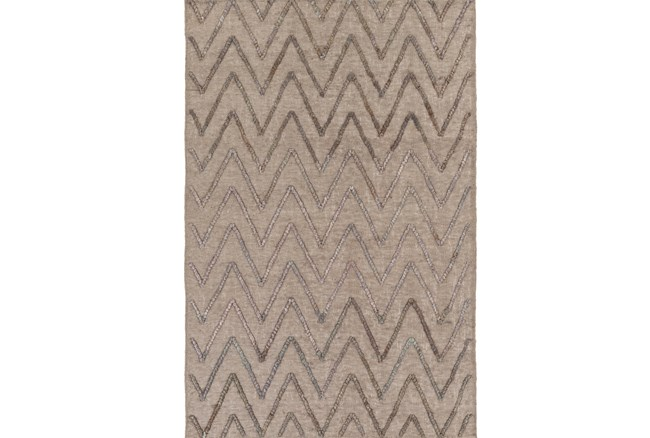96X120 Rug-Aisha Grey/Charcoal - 360
