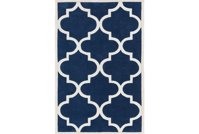 60X96 Rug-Juliana Navy - 360