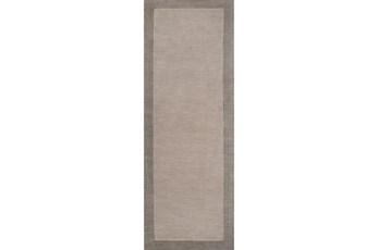 30X96 Rug-Cuadro Grey