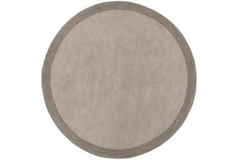 8' Round Rug-Cuadro Grey
