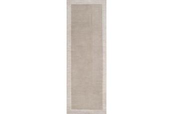 30X96 Rug-Cuadro Light Grey
