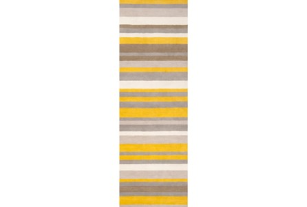 30X96 Rug-Ladee Gold/Grey