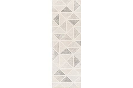30X96 Rug-Ozean Grey Multi