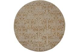 96 Inch Round Rug-Navara Taupe/Grey