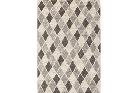 24X36 Rug-Parches Grey/Ivory