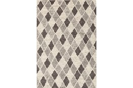 "5'x7'5"" Rug-Parches Grey/Ivory"