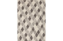 96X120 Rug-Parches Grey/Ivory