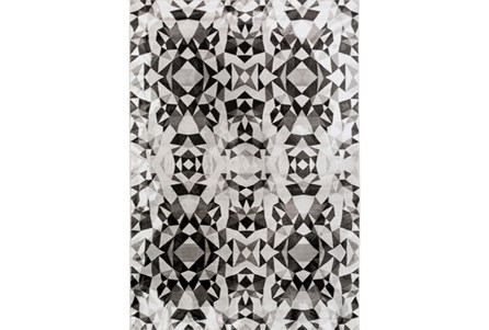 45X62 Rug-Kaleidoscope Grey