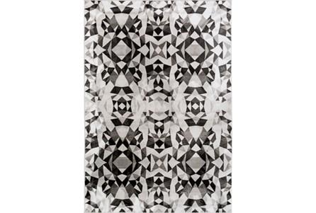 62X90 Rug-Kaleidoscope Grey