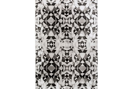 92X126 Rug-Kaleidoscope Grey