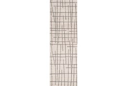 30X96 Rug-Sticks Beige/Grey