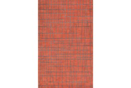 24X36 Rug-Sticks Rust/Grey