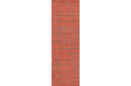 30X96 Rug-Sticks Rust/Grey