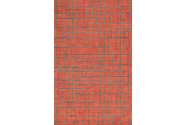 39X63 Rug-Sticks Rust/Grey - 360
