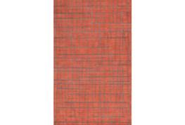 60X96 Rug-Sticks Rust/Grey