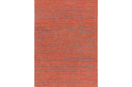 96X132 Rug-Sticks Rust/Grey