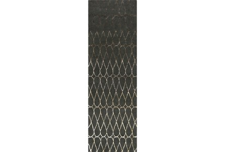 30X96 Rug-Seda Charcoal