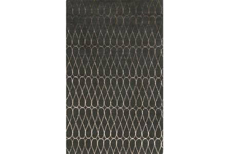 39X63 Rug-Seda Charcoal