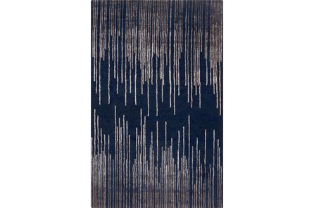 24X36 Rug-Waterval Navy - Main