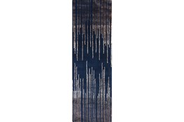 30X96 Rug-Waterval Navy