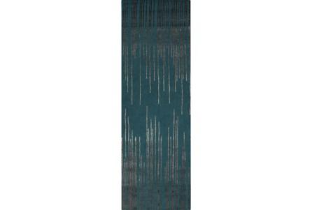 30X96 Rug-Waterval Teal