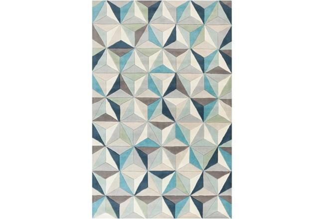 24X36 Rug-Origami Grey/Blue - 360
