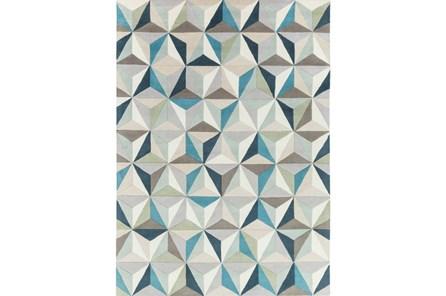 96X132 Rug-Origami Grey/Blue