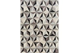 96X132 Rug-Origami Grey/Black/Taupe