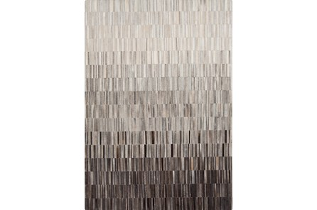 60X96 Rug-Stapleton Hide Grey