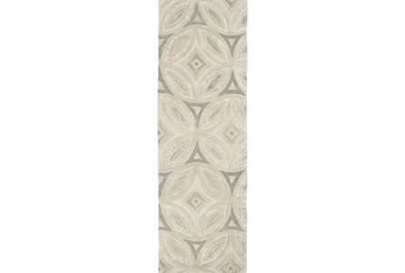 30X96 Rug-Bayleaf Beige/Grey