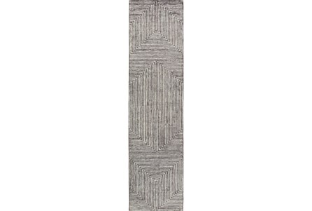 30X120 Rug-Ranura Light Grey