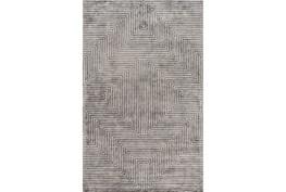 4'x6' Rug-Ranura Light Grey