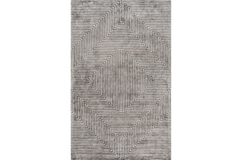 48X72 Rug-Ranura Light Grey