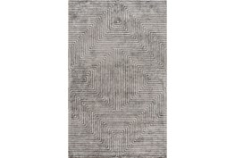 60X90 Rug-Ranura Light Grey