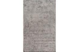 6'x9' Rug-Ranura Light Grey