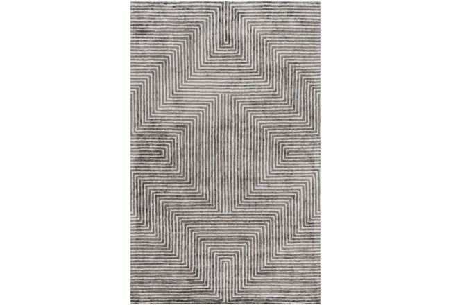 72X108 Rug-Ranura Light Grey - 360